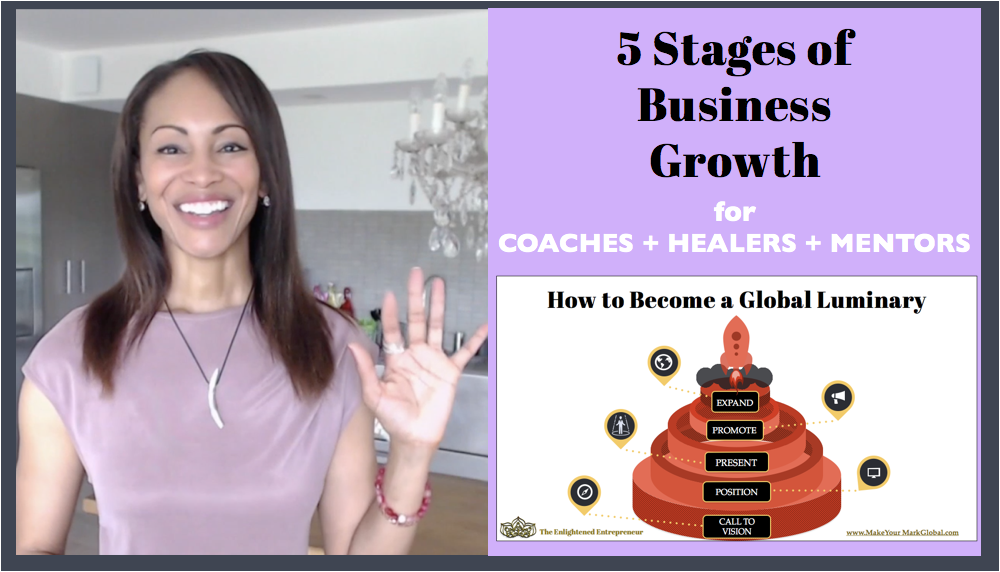 5 Stages of Business Growth | How to Build a Global Coaching Biz