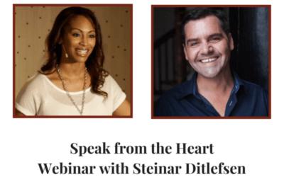 Speak from the Heart | Special Interview between Steinar Ditlefsen & Andrea Pennington