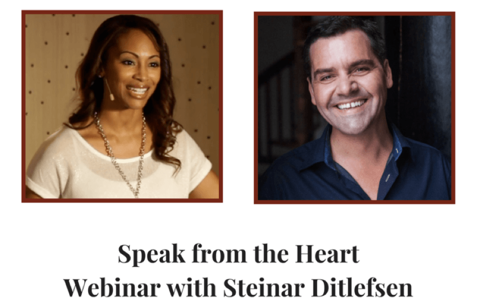 Speak from the Heart | Special Interview between Steinar Ditlefsen & Andrea Pennington