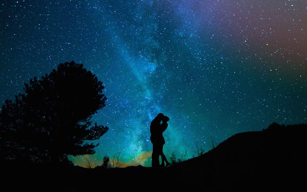 Do we 'find' love, or does love find us?  The magical manifesting aspect of relationships